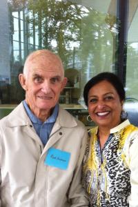 Drs. Rod Andrew and Nirvair Levitt